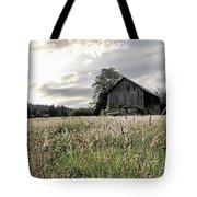 Barn And Grass Tote Bag