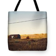 Barn And Landscape Tote Bag