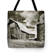 Barn And Silo Tote Bag