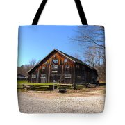 Barn At Billie Creek Village Tote Bag