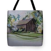 Old Barn At Wason Pond Tote Bag