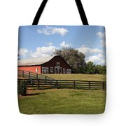 Barn At Yonah Mountain Winery 001 Tote Bag