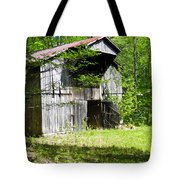 Barn From The Forgotten Farm 3 Tote Bag