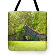Barn From The Forgotten Farm Tote Bag
