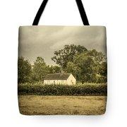 Barn In Corn Field Tote Bag