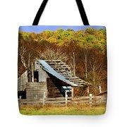 Barn In Fall Tote Bag