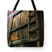 Barn In May Moonlight Tote Bag