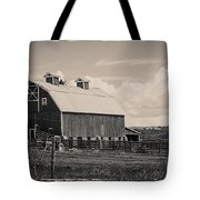 Barn In Polaroid Tote Bag