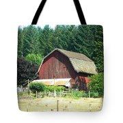 Barn In Summer Tote Bag