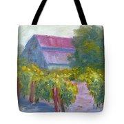 Barn In Vineyard Tote Bag