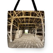 Barn Interior Tote Bag