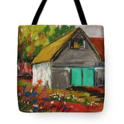 Barn Off From The Garden Tote Bag