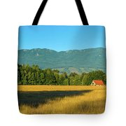 Barn On Cascade Road In Rockport Tote Bag