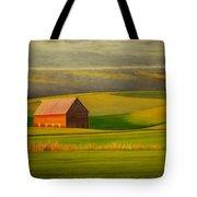 Barn On The Palouse Tote Bag