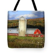 Barn On The River Rd. Tote Bag