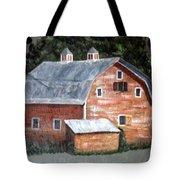 Barn On Va Creeper Trail Tote Bag