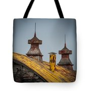 Barn Roof In Color Tote Bag