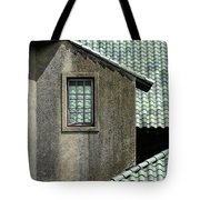 Barn Roofs At The Crane Estate Tote Bag