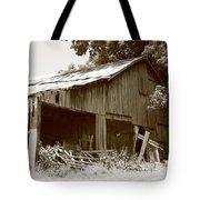 Barn Sepia 2 Tote Bag