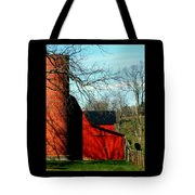 Barn Shadows Tote Bag