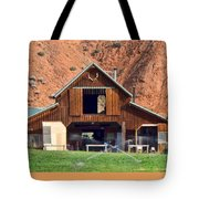 Barn Ten Sleep Wyoming Tote Bag