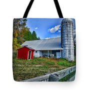 Barn - The Old Horse Tote Bag