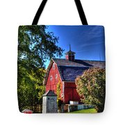 Barn With Out-sheds Brunner Family Farm Tote Bag