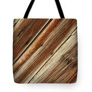 Barn Wood Detail Tote Bag