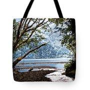 Barnes Creek At Lake Crescent - Washington Tote Bag