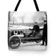 Barney Oldfield And Henry Ford Tote Bag