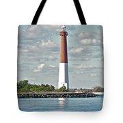 Barngat Lighthouse - Long Beach Island Nj Tote Bag