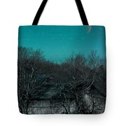 Barns-featured In Visions Of The Night Group Tote Bag