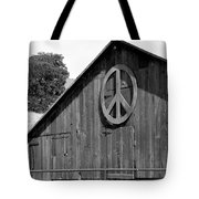 Barns For Peace Tote Bag