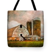 Barns In The Country Tote Bag