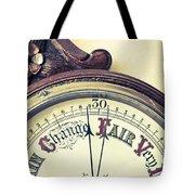 Barometer Tote Bag by Tom Gowanlock