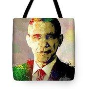 Barrack Obama Tote Bag