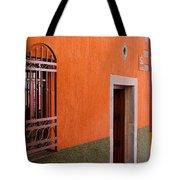 Barred Window, Mexico Tote Bag
