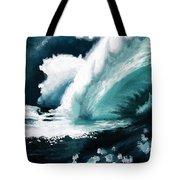Barreling Storm Tote Bag