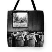 Barrels Of Beans - Bw Tote Bag