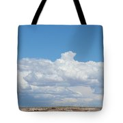 Barren Horizon Tote Bag