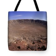Barringer Crater, Fisheye View Tote Bag