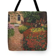 Barrington Court Gardens Somerset Tote Bag