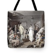 Barroom Dancing, C1820 Tote Bag