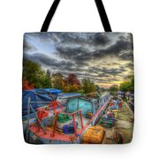 Barrow Boats Tote Bag