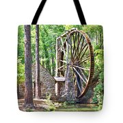 Berry College's Old Mill - Square Tote Bag