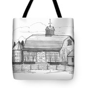 Barrytown Barn Tote Bag