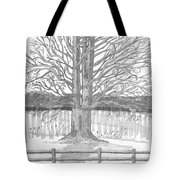 Barrytown Tree Tote Bag