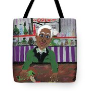 Bartender At The Country Club Tote Bag