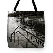 Barton Springs Pool In Austin Tote Bag