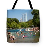 Barton Springs Pool Tote Bag